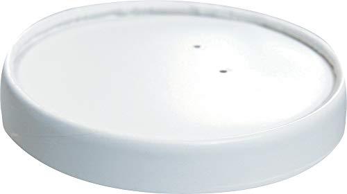 dart 24274 spirale blessure ventilé Nourriture Couvercle, Ch32 a-4000, Blanc (lot de 500)