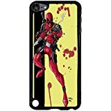 Ipod Touch 5th Generation Cover Shell Cool Bang With Gun Awesome Comic Superhero Deadpool Phone Case Cover for Ipod Touch 5th Generation Mercenary Great,Cas De Téléphone
