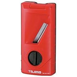 Tajima TBK120-H45 Rabot à chanfreiner 45° 120mm, Noir/Rouge