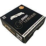3x Derby Rasierklingen (Premium 100er) für Rasiermesser mit wechselbaren Klingensystem