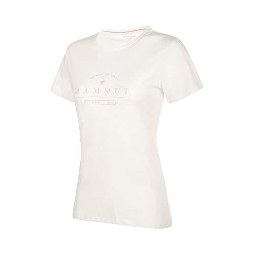 Patagonia Shirt White (Mammut Damen Seile T-Shirt, Bright White PRT1, M)