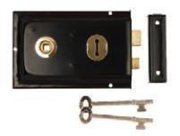 excel-hardware-double-handed-rim-lock-6-x-4-black