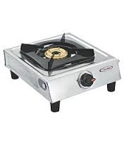 Suryashine Single Burner Stainless Steel Cook Top ,Steel, silver
