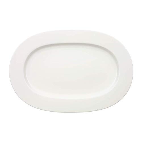 Villeroy & boch royal piatto ovale grande da portata, lavabile in lavastoviglie, porcellana premium bone, 41 cm