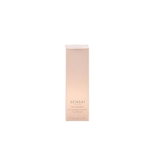 Self-tanning Face Gel (Sensai Silky Bronze femme/woman, Self Tanning for Face, 1er Pack (1 x 50 ml))