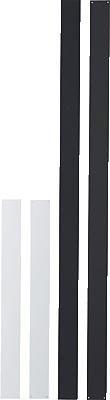 Wandleiste selbstklebend weiß 100x5cm