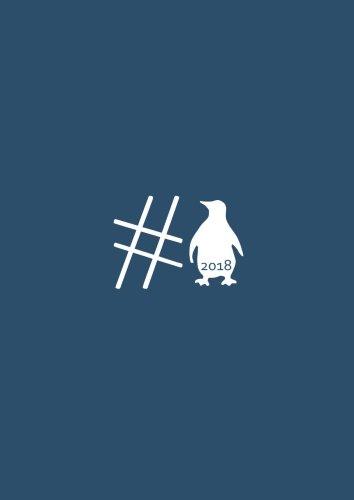 dicker TageBuch Kalender 2018 - #Pinguin: Endlich genug Platz für dein Leben! 365 Tage = 365 A4-Seiten