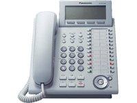Panasonic KX-NT346NE IP-Systemtelefon (6-Zeilen Display, 24 Tasten, Freisprechen, HS Anschluss, Switch, opt. Erweiterungskonsole) weiß