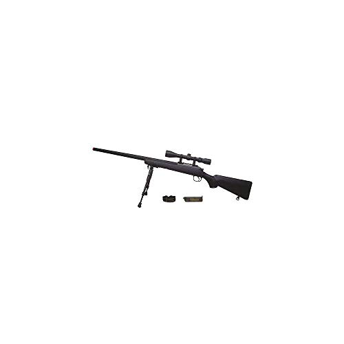 Well Airsoft Sniper VSR10 w/Lunette & Bipied MB-03D 0.5 Joule