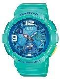 Blue Dial Women's Analog-Digital Casual Quartz Casio Watch Baby-G BGA-190-3B