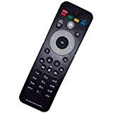 Replaced Remote Control Compatible for Philips BDP2105 RC-5830 996580000587 BDP5406F7 BDP2285 F7 BDP2305 F7 BD Blu Ray Disc DVD Player vudu NETFLIX