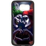 leonardcustom S6Rubber Handy Fall-Silikon Schutz Hülle für Samsung Galaxy S6, Batman Joker und Harley Quinn-lcs6u865