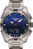 Mens Tissot T-Touch Solar Titanium Chronograph Solar Powered Watch T0914204404100