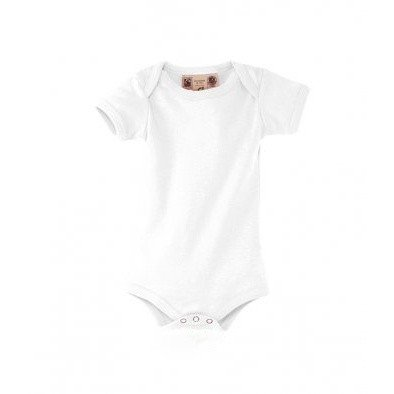 SOLS Baby Organic Cotton Bambino Short Sleeve Bodysuit (6-12 Months) (White)  available at amazon for Rs.1298