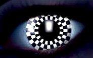 Nerd Clear® Kontaktlinsen UV 2 Stück (Stück Schach Kostüme)