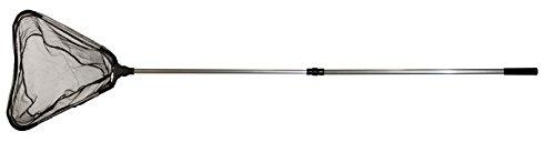 Söll 14732 Teichkescher klappbar aus hochwertigem Aluminium, teleskopierbar von 90-150 cm