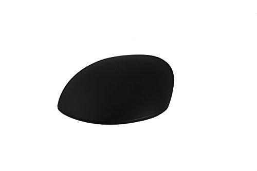 TarosTrade 58-0195-L-45923 Türspiegel-Verkleidung Schwarze Links -