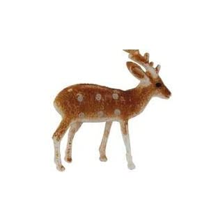 Anniversary House Reindeer Plastic Cake Toppers. Pack of 6. BX164