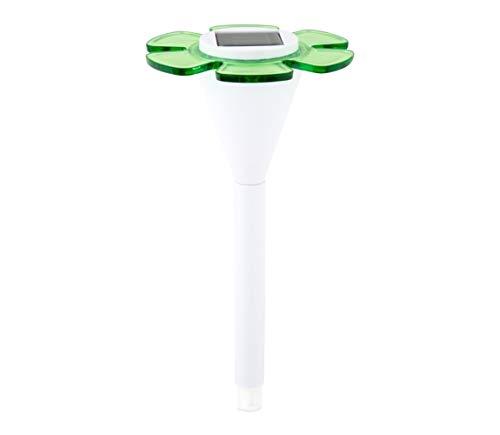 Eglo Solar-Outdoor Lighting (Pedestal/Post, LED, battery, Green, White, Plastic, Garden) Batterie Post