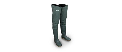 Shimano PVC Thigh Boot Watstiefel Größe 46 SHPVCTHB46 Watstiefel Thigh Boots Angelstiefel Stiefel Watbekleidung