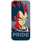 Dragon Ball Z Vegeta Pride Hard Plastic Snap-On Case Skin Cover For iPhone 5 / iPhone 5s