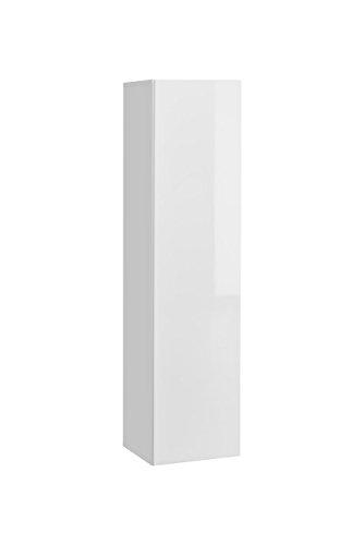 Juub Hängeschrank Wandschrank Push-Click mit Hochglanzklappe Blox SW27-28 WW