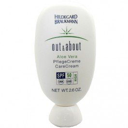 Aloe Vera Sun Cream (Hildegard Braukmann Out und About femme, Aloe Vera Care Cream, 1er Pack (1 x 75 ml))