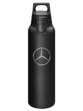 Tazza termica Mercedes-Benz, colore: nero opaco, 0,5litri