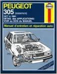 En ligne téléchargement Peugeot 305 essence pdf, epub