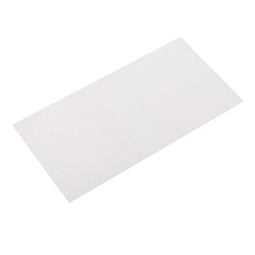 FLAMEER Selbstklebende Reparatur-Patches Für Camping-Zelt, 20x10cm - Reis Weiß