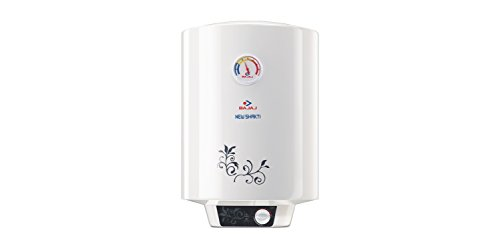 Bajaj New Shakti GL 25-Litre Vertical Storage Water Heater (White)