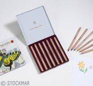 STOCKMAR Buntstifte sechseckig, 12+1 Stifte sortiert