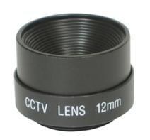 Objektiv 12mm Kameraobjektiv CS Mount Fixed Iris F2.0 + Adapterring 12 Mm Fixed Iris