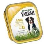 Yarrah–cibo per cani paté pollo con Alghe Marine Bio 14X150G