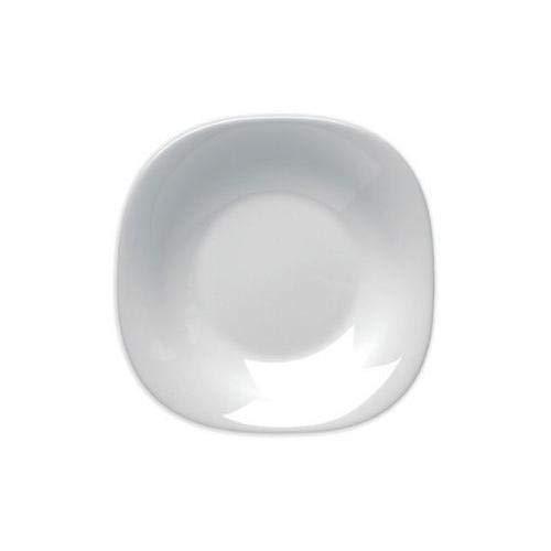 BORMIOLI ROCCO - lot de 6 assiettes creuses Parma 23 cm verre opale