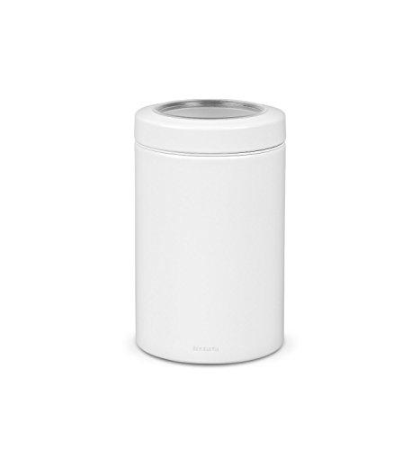 Brabantia Dose mit Fensterdeckel 1,4 L/White