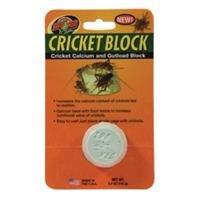 Zoo Med Cricket Calcium and Gutloads Block Feeding Supplement Nutritional Value -