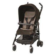 Maxi-Cosi Kinderwagen Dana (mit Babyschale oder Kinderwagenaufsatz schon ab der Geburt nutzbar, kompakt und rückenschonend zusammenfaltbar, Leichtgewich) braun