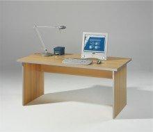 Preisvergleich Produktbild Wellemöbel, Tool, Wangenschreibtisch, 160 x 80 cm, Buche