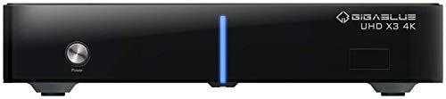 GigaBlue HD X3 4K 1x DVB-S2X FBC Twin Tuner E2 Linux UHD Receiver