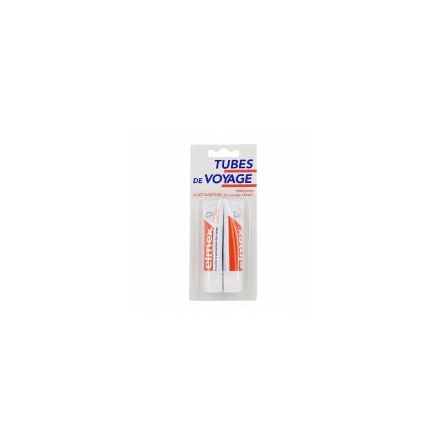 Elmex Dentifrice Protection Caries Tubes de Voyage 2 x 12 ml