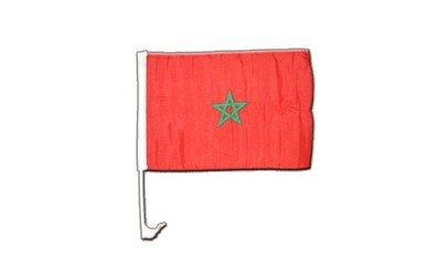 Autofahne Autoflagge Marokko - 30 x 40 cm