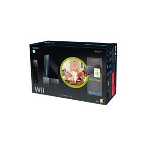"Nintendo Wii ""Wii Fit Plus Pak"" – Konsole inkl. Wii Sports, Wii Fit Plus, Balance Board + Remote Plus Controller, schwarz"
