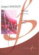 22 études (Degré élémentaire) - clarinette par Jacques Lancelot