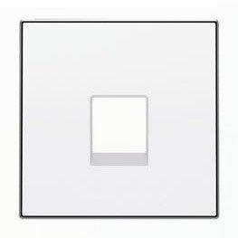 Niessen 8517 Tapa Toma TLFNO 6 CONTACTOS BL Blanco