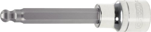 KS Tools 918.1778 - CHROME + bit hex sockets, 1/2