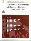 The Nutrient Requirements of Ruminant Livestock: Suppt. 1