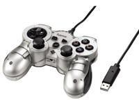 Hama Controller Mini V3 Silver für PS3 - Spanisch Ps2-tastatur