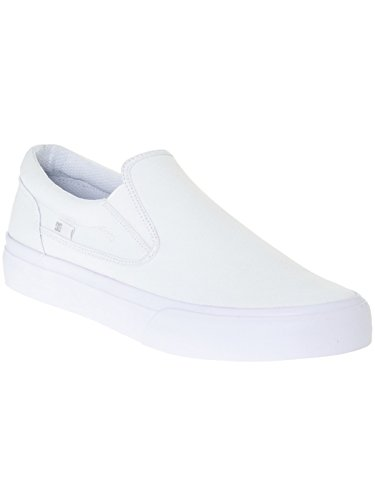 DC Shoes Trase Slip-on T M Shoe Nvy, Low-Top Chaussons homme White/White