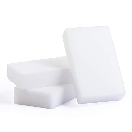 Magic goma de borrar esponja de espuma de melamina multiusos Multi superficie Eco verde limpiador para pizarra, cocina, azulejos, paredes, jabón, baño, zapatos, suelo, Pack De 10